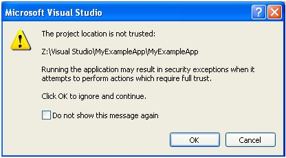 DotNet Trust Issue